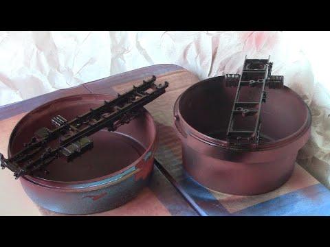 Как загрунтовать и покрасить раму на масштабной модели аэрозольной краской