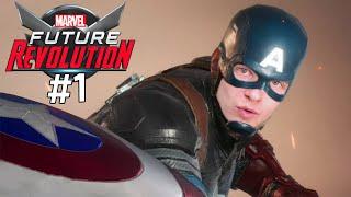 Первая игра в МАРВЕЛ Футуре Революция ► Прохождение MARVEL Future Revolution #1