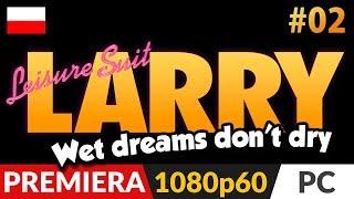 Leisure Suit Larry Wet Dreams Don't Dry PL  odc.2 (#2)  W siedzibie Apple...to znaczy Peach!