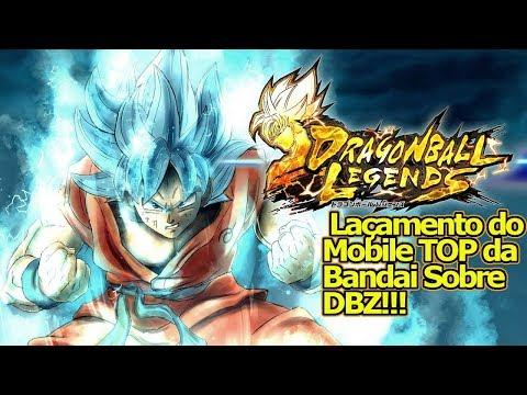 Dragon Ball LEGENDS!!! DATA DE LANÇAMENTO ! Conheça o Mobile de DBZ Top da Bandai ! Omega Play