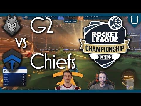 G2 vs Chiefs with Fnatic Snaski | RLCS S4 LAN Winners Round 1