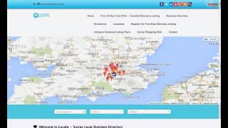 Surrey Local Business Directory -  Visitor Site Video Tour