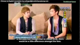[11.08.23] JKPop Craze - KHJ Interview with Calvin Chen 1/2 (Eng Sub)