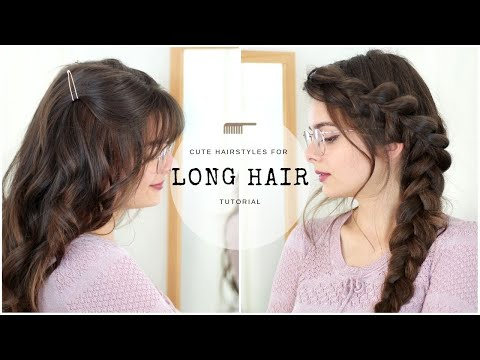 cute-&-easy-hairstyles-for-long-hair