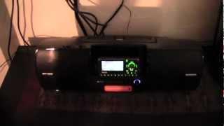 Installing Sirius Universal Boombox