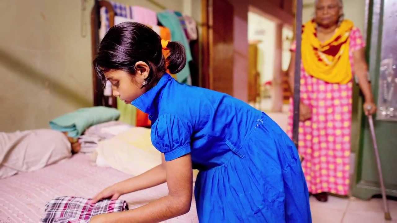 Los esclavos oculto niños como Tania 9 De Bangladesh-4289