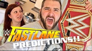 vuclip WWE FASTLANE 2017 PPV PREDICTIONS! GRIM VS HEEL WIFE EVERYTHING ON THE LINE!