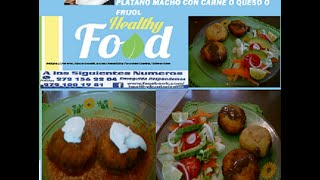 Molotes, Croquetas, Tortitas De Platano Macho Con Carne Y Queso