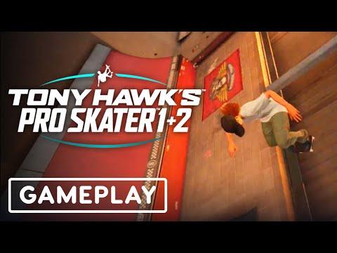 Tony Hawk's Pro Skater 1+ 2 - Nintendo Switch Gameplay