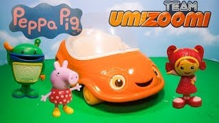 Funny PIG & TEAM UMIZOOMI Nickelodeon Team Umizoomi Search for Shapes Toys Video Parody