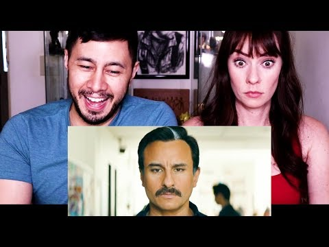 BAZAAR | Saif Ali Khan | Radhika Apte | Trailer Reaction!