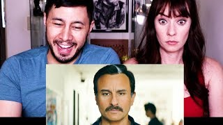 BAZAAR | Saif Ali Khan | Radhika Apte | Trailer Reaction!