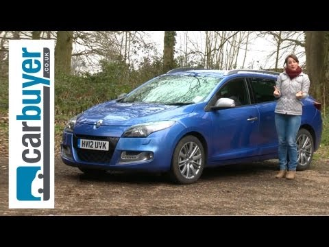 Renault Megane Sports Tourer Estate 2013 Review - CarBuyer