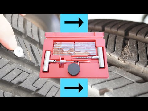 How to Plug a Tire Using a Tire Repair Kit