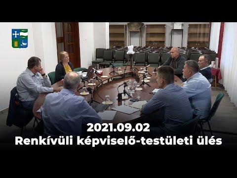 2021.09.02 Baracs Rendkívüli Képviselő-testületi ülés