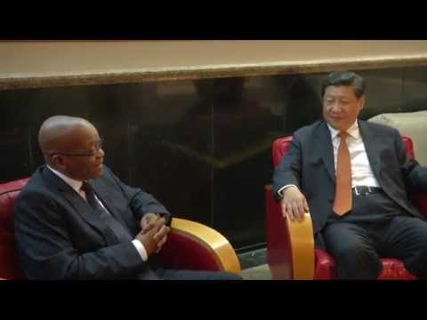 President Jacob Zuma meets Chinese and Russian Presidents ahead of VI Brics Summit