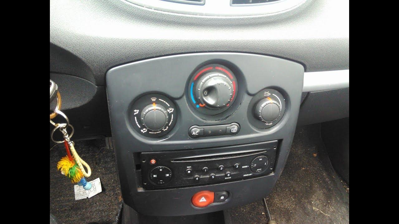 Jak Wymienic żarówki Podświetlenia Kokpitu Renault Clio