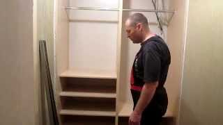 Сборка простого шкафа купе, часть 2(установка направляющих , для дверей шкафа., 2014-12-24T21:52:34.000Z)