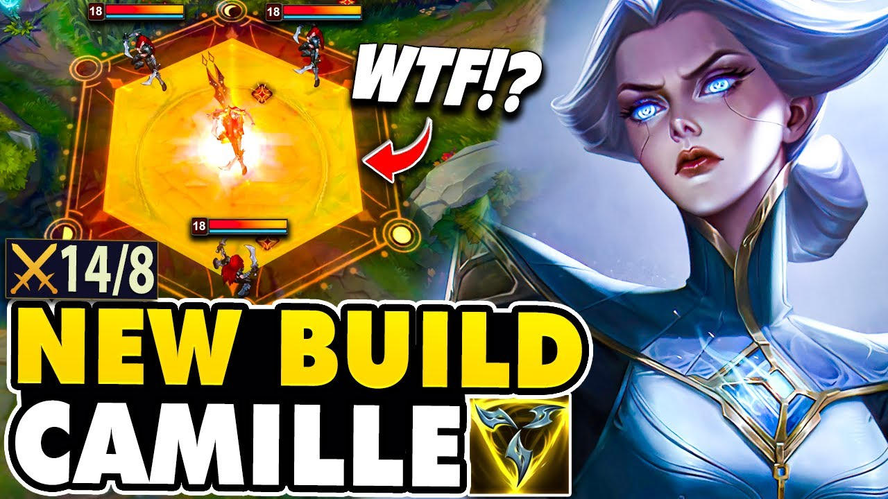 Tarzaned Shows Why This NEW Camille Build Does Crazy Damage!