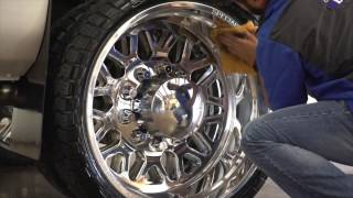 KEEP your Billet wheels polished and truck clean using Zephyr PRO 40 at Elite Detail!