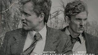 Заставка к сериалу Настоящий детектив 1   True Detective 1 Opening Credits