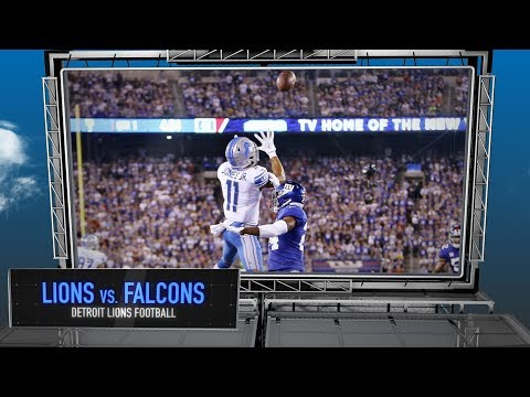 Detroit Lions vs. Atlanta Falcons Preview - Detroit Lions Football