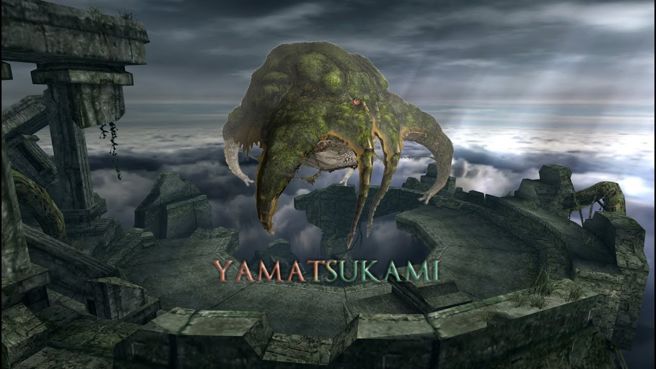 Monster hunter freedom unite online yama tsukami hr youtube