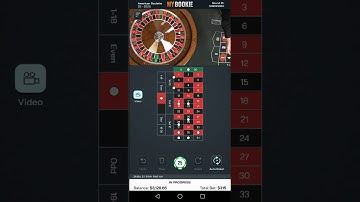 Roulette Online Mobile Stream - European Roulette - Roulette - $355 Profit In Under 11 Minutes Win