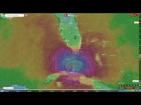 LIVE Hurricane Irma Follow The Route On Real Time With - World satellite view real time
