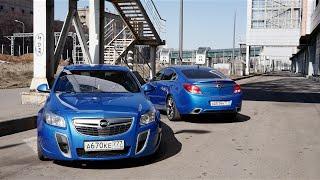 Тест драйв Opel Insignia OPC Stage2 vs. Insignia OPC Stock