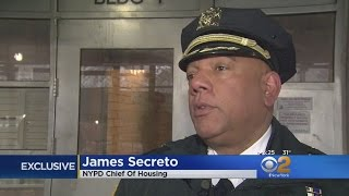 Exclusive: Walking The Beat With NYPD Chief Of Housing