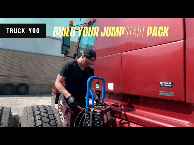 Dead Battery? How to build a jump start pack for a semi truck
