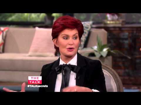 The Talk   Sharon Osbourne Spills A Shocking Secret From Her Dating Days With Ozzy