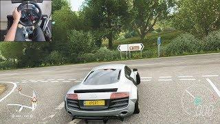900bhp Twin-Turbo Audi R8 V10 Plus - Forza Horizon 4 | Logitech g29 gameplay