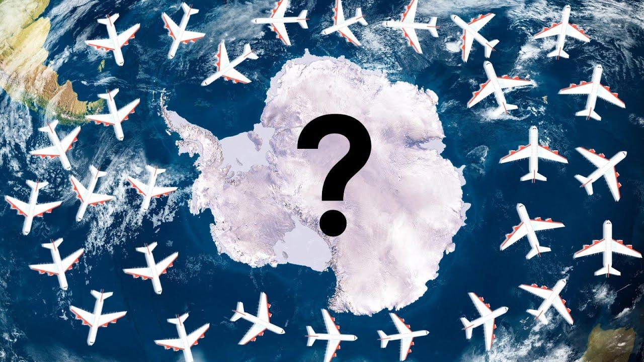 Почему над Антарктидой не летают Самолеты?