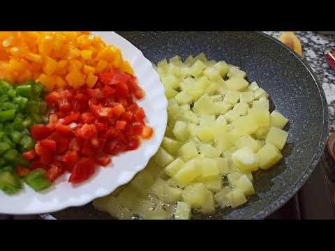 sans-viande-!👌idée-repas-&-dîner-facile-rapide-🔝😋-egg-and-potato-recipe-in-a-new-way