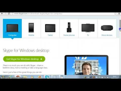 How to download skype for Windows 7 - Asurekazani