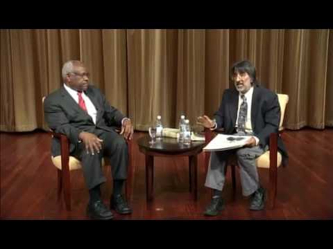 Justice Clarence Thomas and CAC's Akhil Amar debate past, present, and future of our Constitution