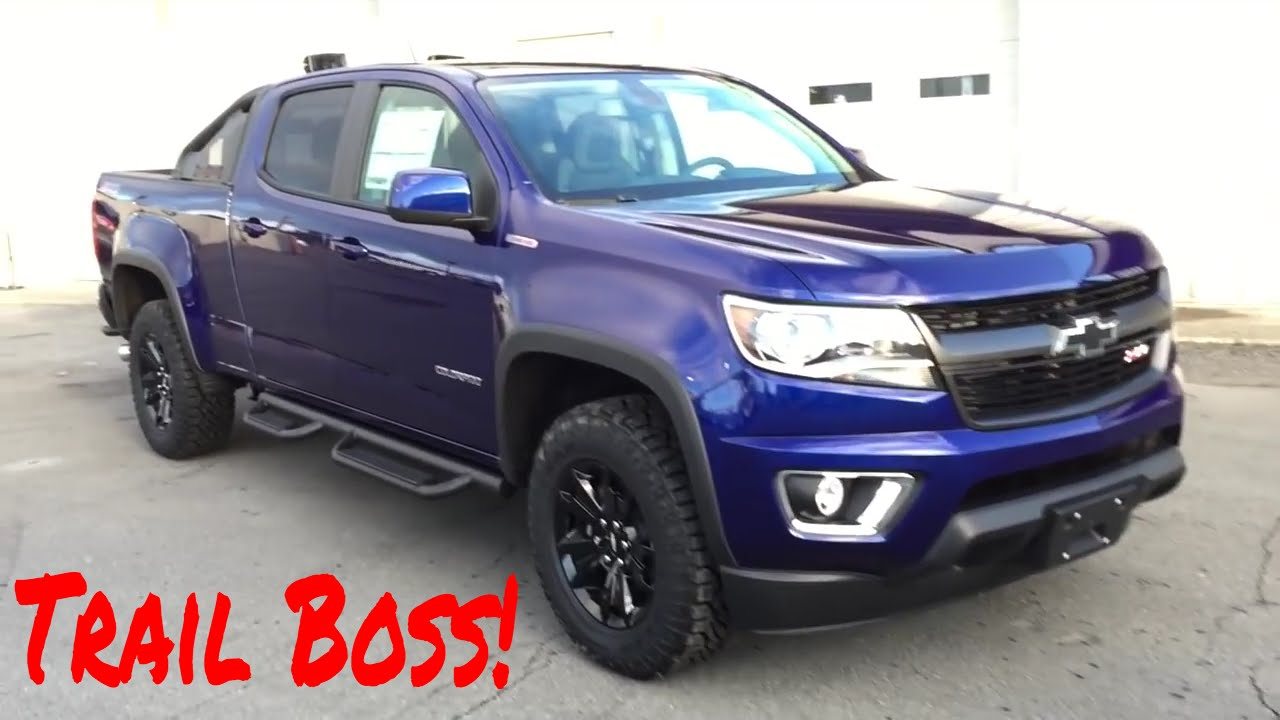 2016 Chevrolet Colorado Trail Boss with Duramax Diesel For Sale in