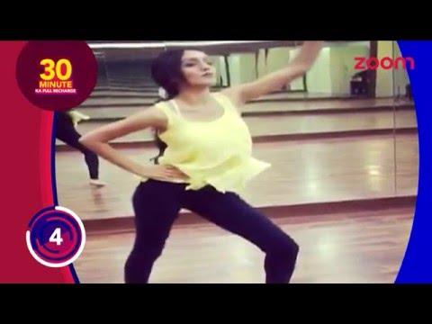 Meera aka Tanya Sharma Rehearsing For An Award Show    Telly Top Up