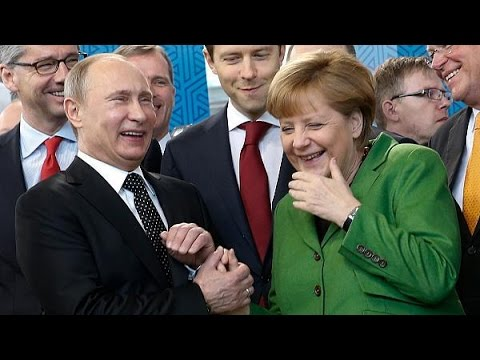 Putin Tells Merkel whatever you do at wedding night you'll be facked