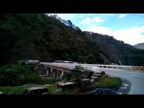 Road of Ambukao Pan PH Hway