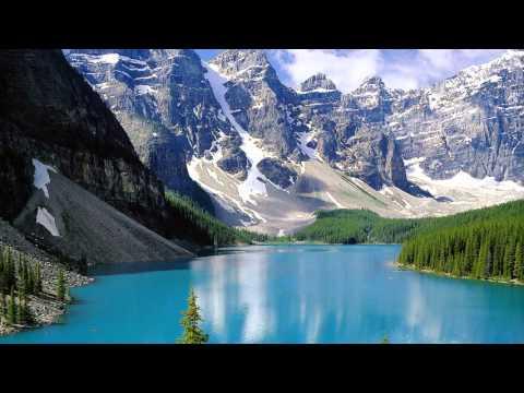Moraine Lake Canada Map Youtube