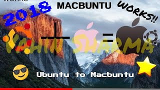 How to make your Ubuntu look like Mac