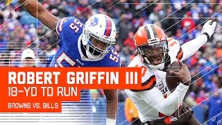 RGIII Scrambles & Dives for a Huge TD! | Browns vs. Bills | NFL Week 15 Highlights