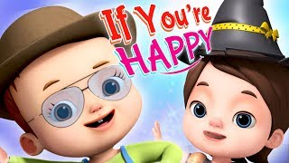 If You Are happy And You Know It | Baby Ronnie Songs | Nursery Rhymes For Babies | Kids Songs