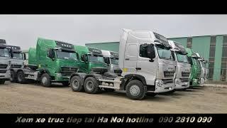 Xe đầu kéo Howo 380 và 420 HP mua xe liện hệ  090 2810 090