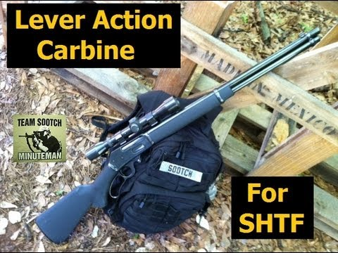 Lever Action Survival Rifle - YouTube