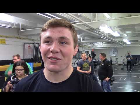 Jacob Warner - Iowa Media Day