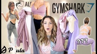 NEW Gym Clothes | Disappointments & Dupes // Gymshark, Alphalete, Ptula